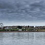 Barry Island Panorama Art Print