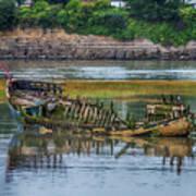 Barry Island Wrecks 2 Art Print