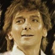 Barry Manilow, Music Legend Art Print