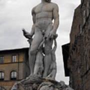 Bartolomeo's Neptune Fountain 2 Art Print