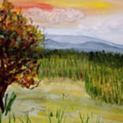 Barton Sunset Art Print