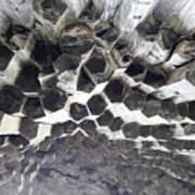 Basalt Rock Columns Formations Art Print