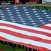 baseball all-star game American flag Art Print