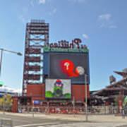 Baseball In Philadelphia - Citizens Bank Park Art Print