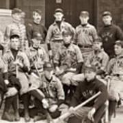 Baseball: West Point, 1896 Art Print by Granger