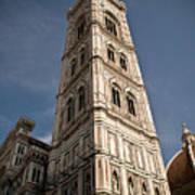 Basilica Di Santa Maria Del Fiore Tower  Art Print