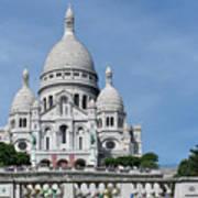 Basilica Du Sacre-coeur De Montmartre Art Print