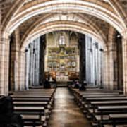 Basilica Of San Isidoro De Leon - Interior Art Print