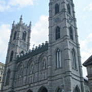 Basilique Notre Dame Art Print
