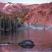 Basin Lake Sunrise 2 Art Print