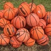 Basketbal Anyone Art Print