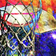 Basketball Artwork Version 179 Art Print