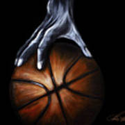 Basketball Legend Art Print