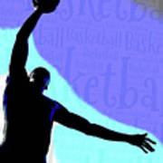 Basketball Poster Art Print