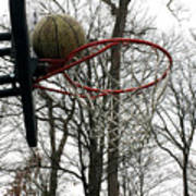 Basketball Practice Art Print