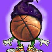 Basketball Wizard Art Print