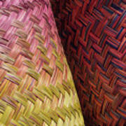 Baskets Of Provence Art Print