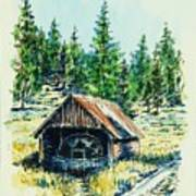 Basque Oven - Russell Valley Art Print