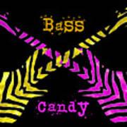 Bass Candy Art Print