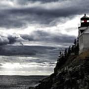 Bass Harbor Lighthouse In Acadia Np Art Print