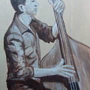 Bass Man II Art Print
