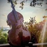 Bass Rhythm And Sound Of A Community  Art Print