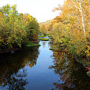 Batavia, Ohio Creek - Other Side Vertical Art Print