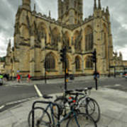 Bath Abbey 2.0 Art Print