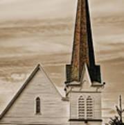 Bath Congregational Church Art Print