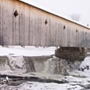 Bath Covered Bridge Art Print