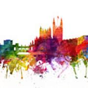 Bath England Cityscape 06 Art Print