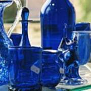 Bath Glass Art Print