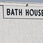 Bath House Art Print