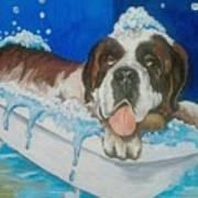 bath time Shnorbitz Art Print