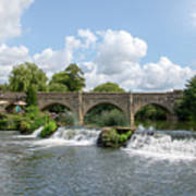 Bathampton Bridge Art Print