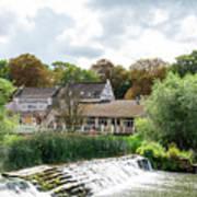 Bathampton Mill Art Print