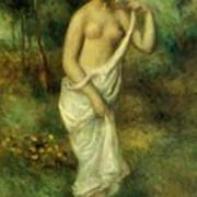 Bather 1887 1 Art Print