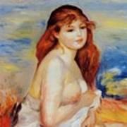 Bather 1887 Art Print