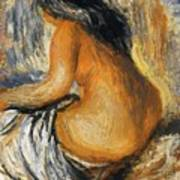 Bather From The Back Art Print