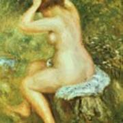 Bather Is Styling 1890 Art Print