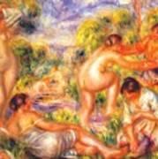 Bathers 1916 Art Print