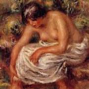 Bathing 1915 Art Print