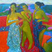 Bathing5 Art Print