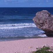 Bathsheba Beach Barbados Art Print