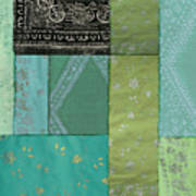 Batik Sky Art Print