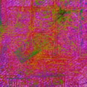 Batiky5 Art Print