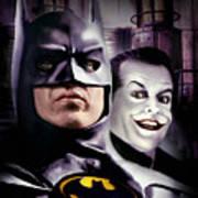 Batman 1989 Art Print