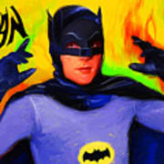 Batman, Adam West Art Print