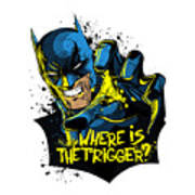 Batman Art Art Print