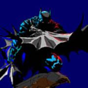 Batman Dark  Art Print